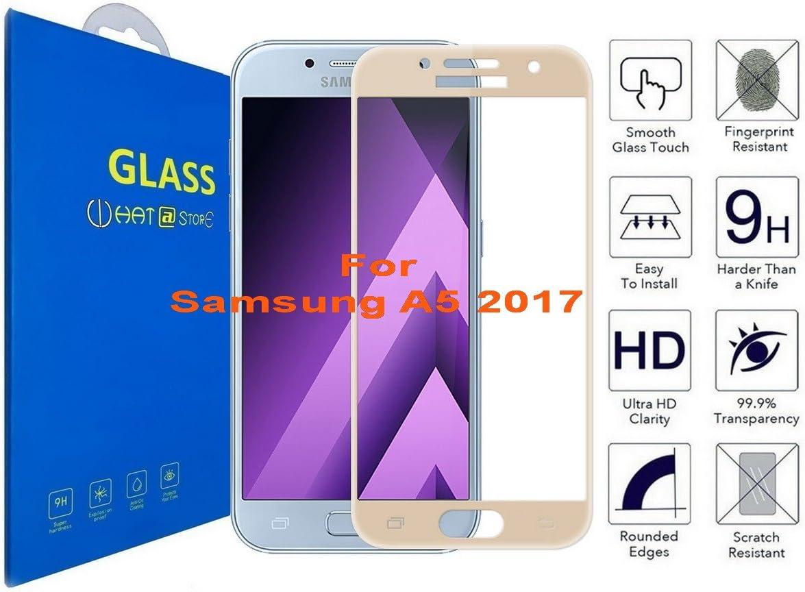 Samsung Galaxy A5 2017 - Curvo 3D Cristal Templado Protector de ...