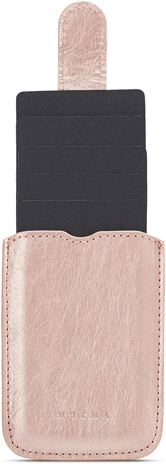 4-Seasons Arlgseln Case Phone Card Holder,5 Cards Adhesive Purse Stretchable Wallet Sleeve