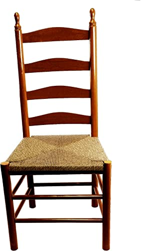 Calabash Wood Ladderback Dining Chair No. 4W Woodleaf Hickory