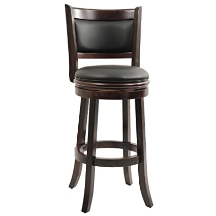 Amazoncom Boraam 48829 Augusta Bar Height Swivel Stool 29 Inch