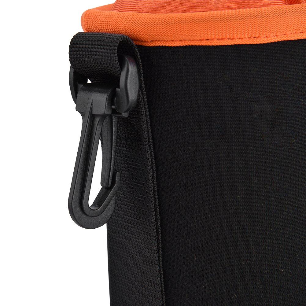 4PCS Thick Diving Material DSLR Camera Lens Pouch Protector Bag Case Set Acouto Camera Lens Bag