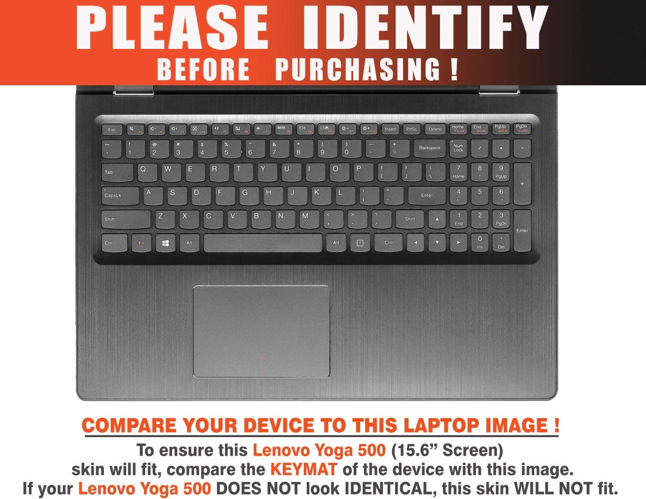 Amazon.com: Decalrus - Protective decal for Lenovo Yoga 500 ...