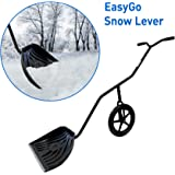 EasyGoProducts EGP-SNOW-001 EasyGo Lever Shovel with Adjustable Height, Wheeled Snow P