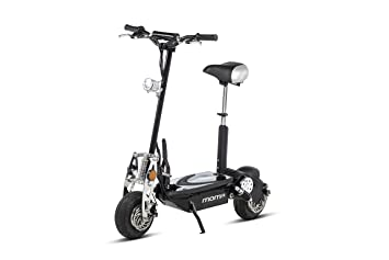 3458a554f Moma Bikes Patinete Eléctrico Plegable Urbano 1000W ruedas 10 quot