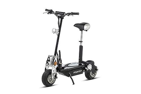 Moma Bikes Patinete Eléctrico Plegable Urbano 1000W ruedas 10