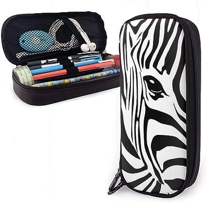Estuche de lápices Zebra Stripes Estuche para lápices con cremallera duradera Estuche para estudiantes para bolígrafos y otros útiles escolares: Amazon.es: Oficina y papelería