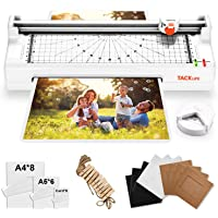 "Laminator, 5-in-1 Thermal Laminator Machine with Hot & Cold Settings, 9.05"" Wider Inlet, ABS for Paper Jam, Trimmer, Corner Rounder, 20 Pouches and 10 Photo Films - MTL02"