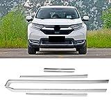 KIMISS 6Pcs Aluminum Alloy Side Door Body Mouldings Cover Trim for Honda CRV 2017-2018