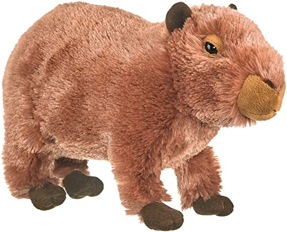 "Capybara Pup Plush Toy 11.5"""