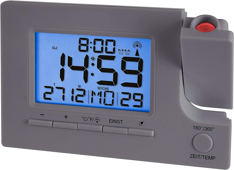 Krippl-Watches R/éveil Radio-pilot/é avec Affichage de la temp/érature