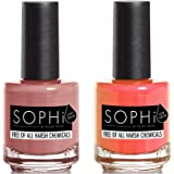 SOPHi Nail Polish Travel with Me - Non-Toxic - Safe, Free of All Harsh Chemicals