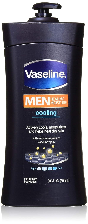 Vaseline Mens 24-Hour Moisture Lotion Cooling 20.3oz (6 Pack)