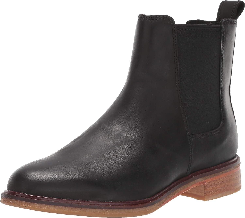Clarks Clarkdale Arlo Black Leather 6.5