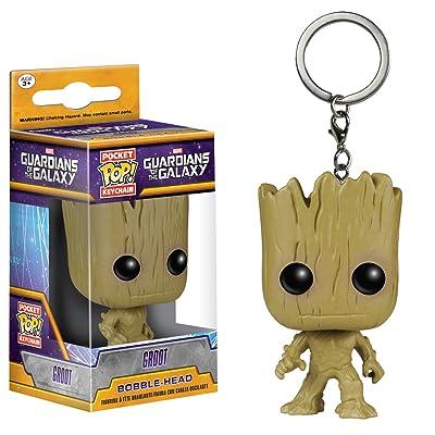 Pocket POP! Keychain - Marvel: Guardians O/T Galaxy: Groot: Juguetes y juegos