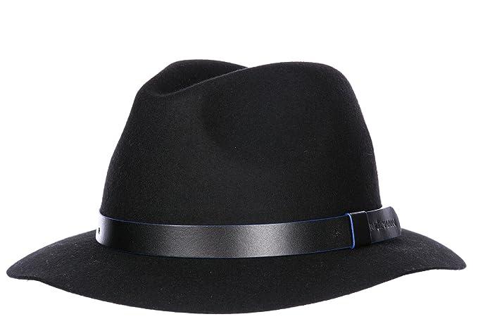 Emporio Armani cappello uomo originale nero  Amazon.it  Abbigliamento ea2dadf69d81