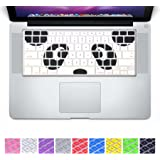DHZ Unique Ultra Thin Durable Keyboard Cover Silicone Skin for MacBook Pro 13, 15, 17-Inch (with or w/out Retina Display) iMac and MacBook Air 13-Inch (Panda)
