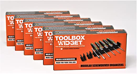 Pack of 32 ToolBox Widget Screwdriver Organizer