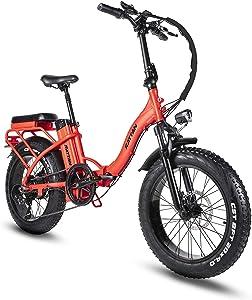 R RATTAN 750W 20Inch Folding Electric Bike