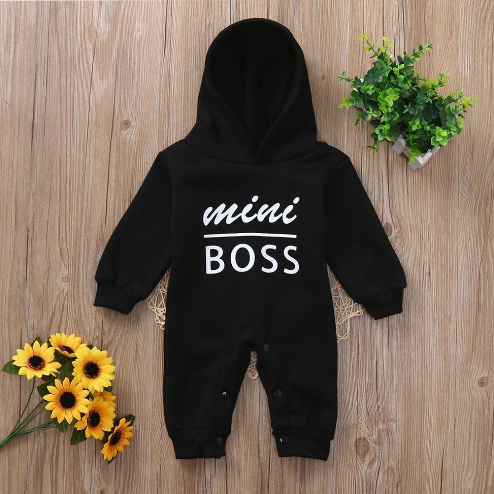 Amazon.com: Staron Mini Boss - Sudadera con capucha para ...