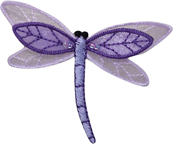 Sew on patch,for jacket,for mask,for backpack, Large dragonfly patch,green,iron on patch,embroidered patch,applique