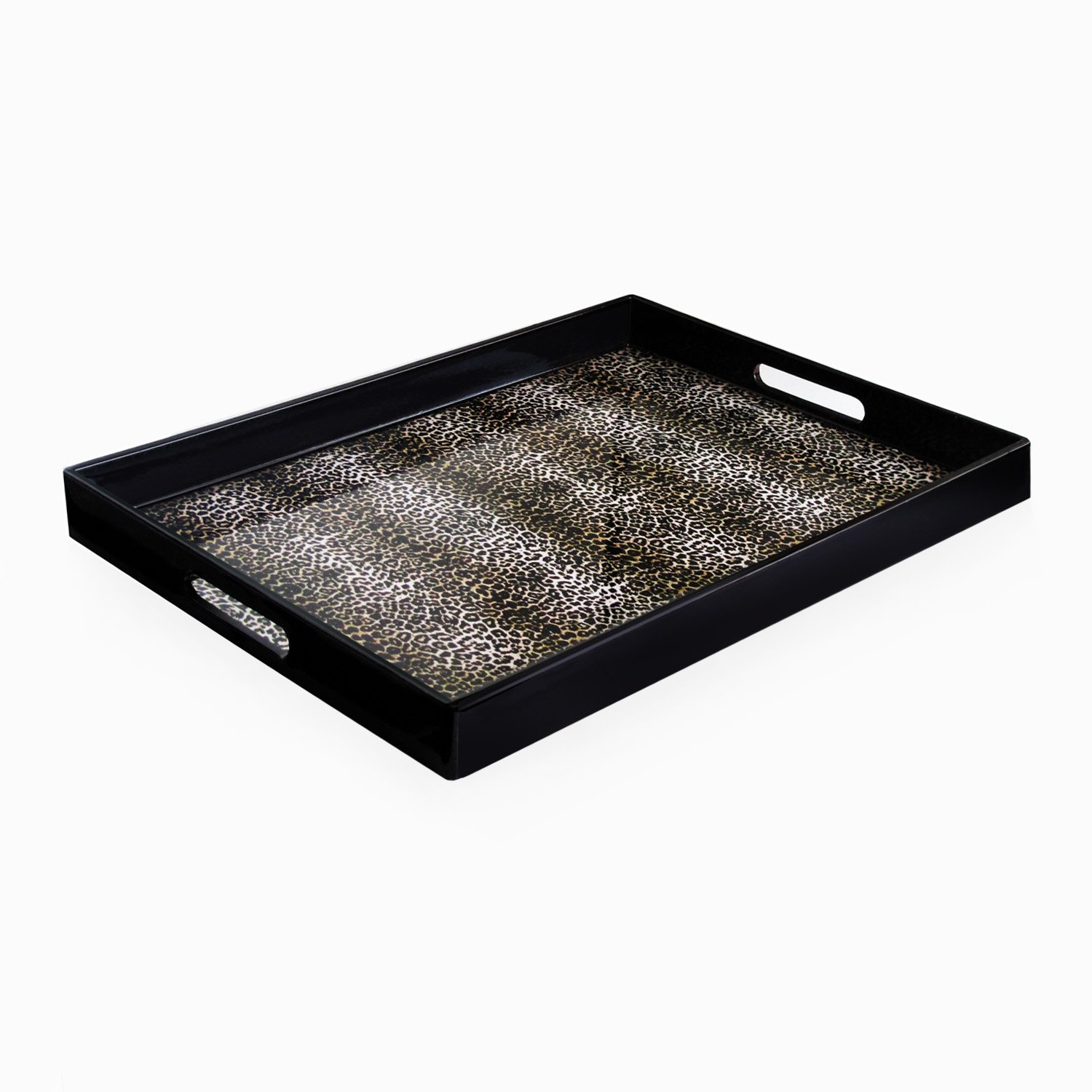 Accents by Jay Leopard Skin Rectangle Tray 1321005