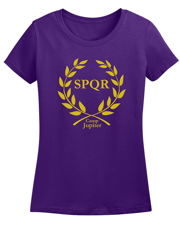 Qukkran Fashion Tee Camp Jupiter Spqr Tshirt Short Sleeve