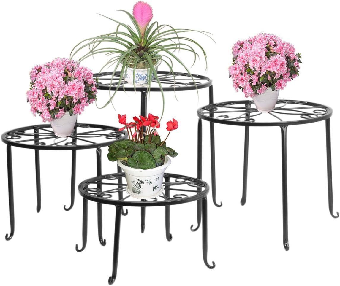 pflanzhocker Fleurs Tabouret en fonte fleurs cadre ancien support de fleurs Jardin