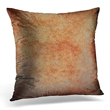 Amazon Breezat Throw Pillow Cover Abstract Brown Rust Color Amazing Rust Decorative Pillows