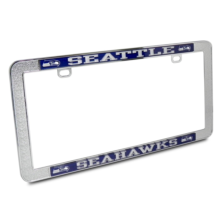 NFL Seattle Seahawks Chrome Pebble Textur Metall Nummernschild ...