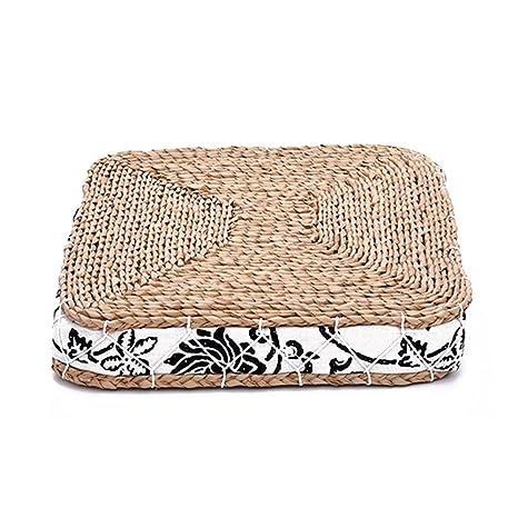 Amazon.com: Almohada de suelo de tatami japonés Zafu con ...