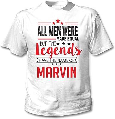 teesquare1st Marvin Camiseta Blanca para Hombre de Algodon: Amazon.es: Ropa y accesorios