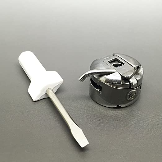 Portacanillas para máquinas de coser de uso doméstico Brother, Toyota, Janome y Singer, entre otras, con destornillador para tensión: Amazon.es: Hogar