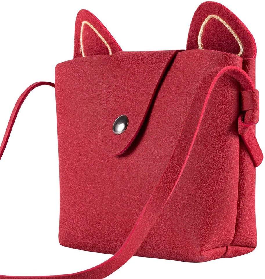 Aibearty Unisex Kids Tassel Shoulder Bag Mini Coin Purse Crossbody Satchel