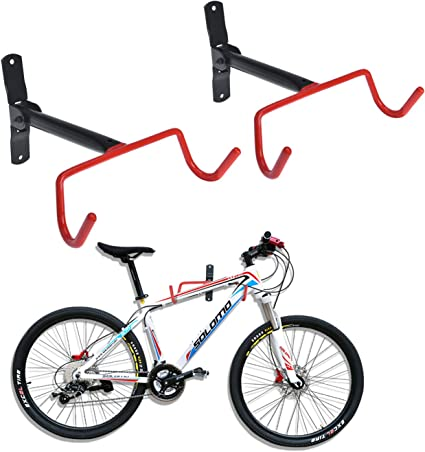 4PCS Bicycle MTB Bike Wall Mount Hook Hanger Garage Storage Holder Rack Stand US