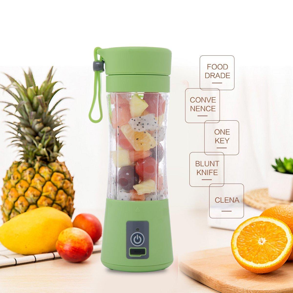 Electric Rechargeable Juice Mixer Blender