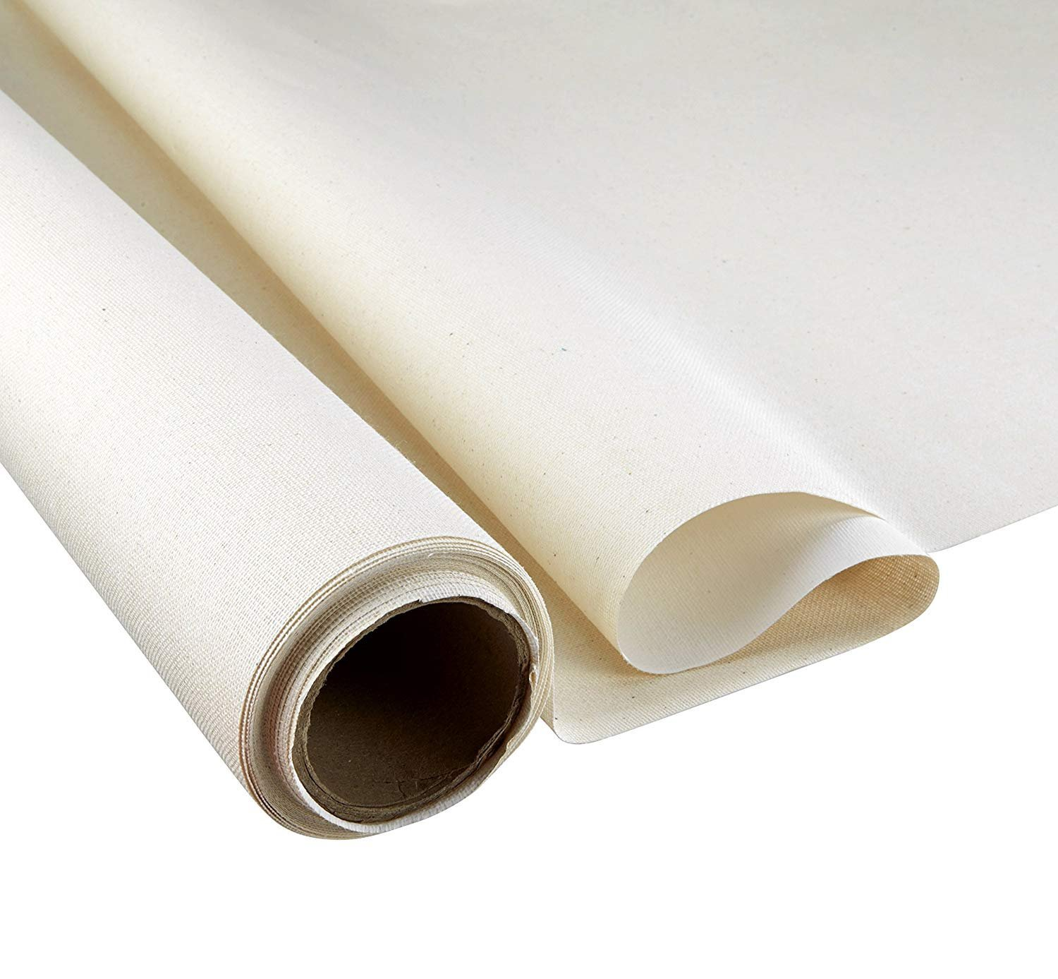 Artlicious Premium Heavy Weight Cotton Duck Canvas Roll 36-inch by 6-Yards - 15 oz Primed Weight by Sorillo Brands