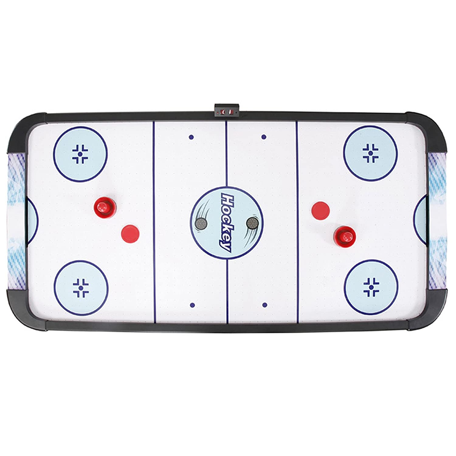 Air hockey table dimensions - Amazon Com Hathaway Face Off Air Hockey Table With Electronic Scoring 5 Feet Blue Black 60 X 26 X 31 Inch Air Hockey Equipment Sports Outdoors