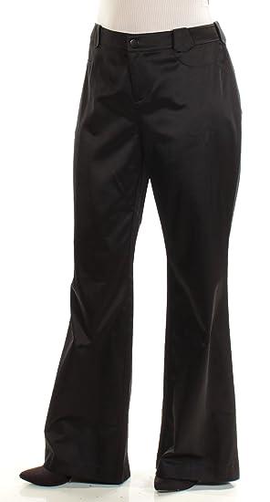 Amazon Com Anna Sui Womens Regular Fit Satin Wide Leg Pants Clothing