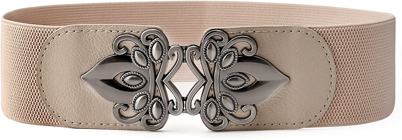 Women Faux Leather Obi Belt...
