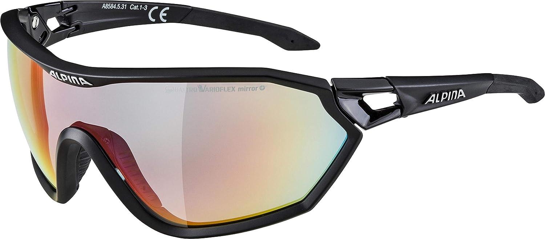 ALPINA Erwachsene S-Way QVM+ Sportbrille