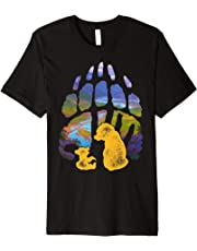 Disney Brother Bear Kenai Koda Paw Silhouette T-Shirt