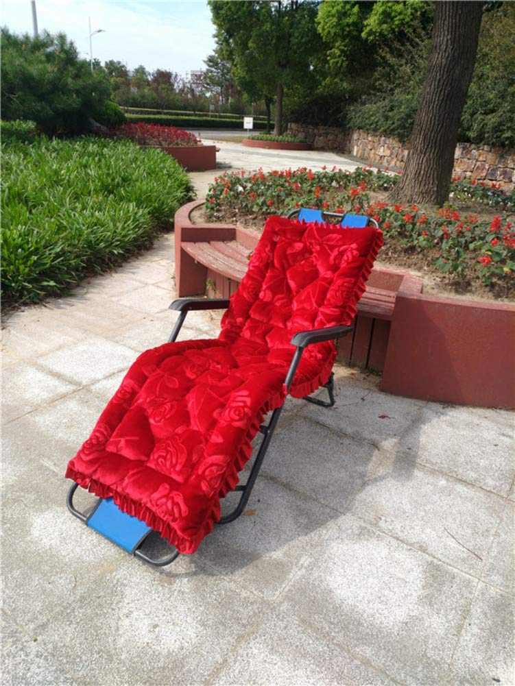 ZGYQGOO Indoor Outdoor Lounge Stuhl Kissen, Lounge Chaise Kissen Patio Liegestuhl Kissen Sonnenliege Matratze Für Gartensofa Tatami Auto Bank (Kissen Nur) -qq 48x145 cm (19x57 Zoll)