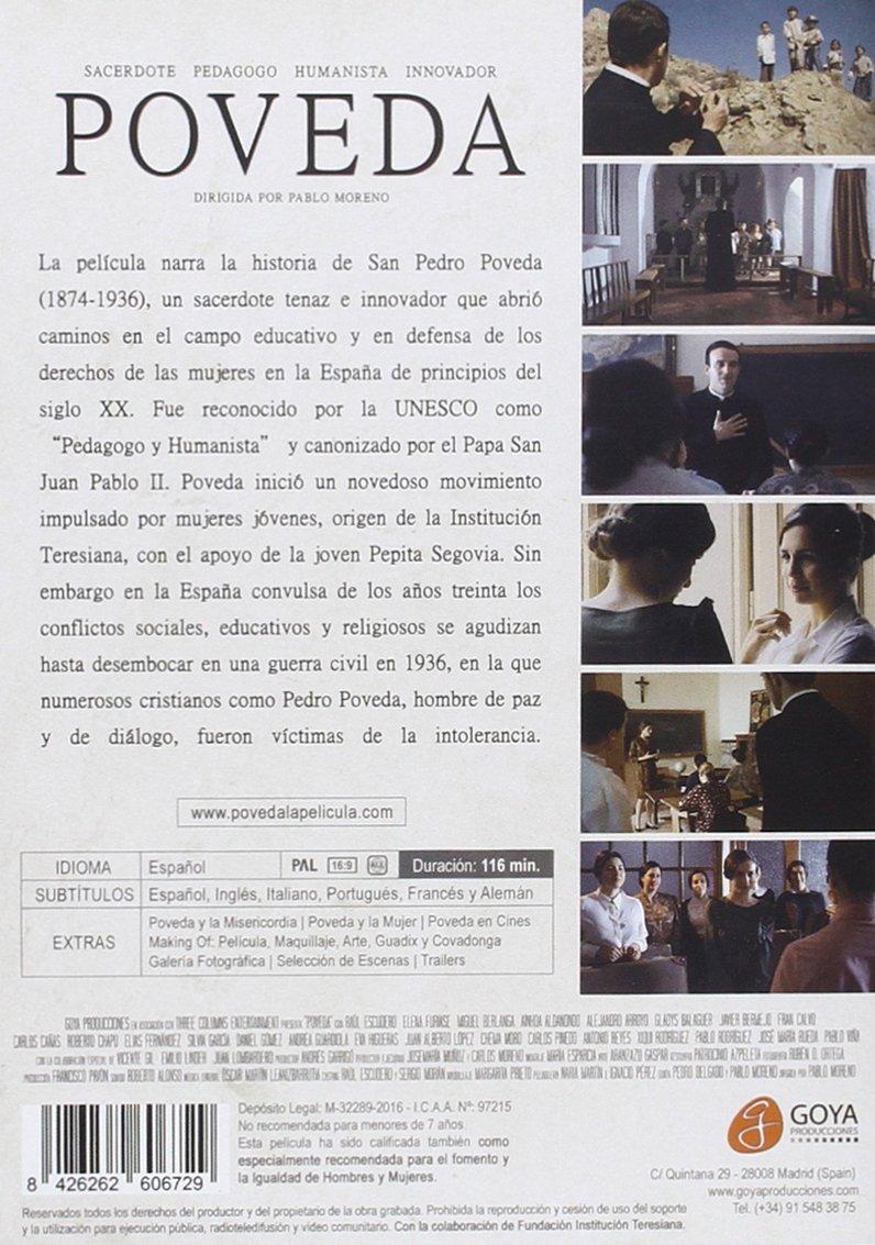 Póveda [DVD]: Amazon.es: Raul Escudero, Elena Furiase ...