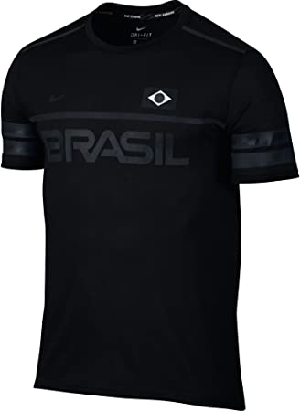 Nike M NK DRY TOP SS ENERGY BRAZIL - T-shirt for Men 3f9dba3b45576