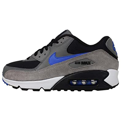 nike air max 90 dark grey hyper cobalt