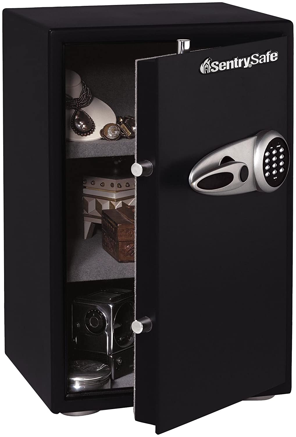 SentrySafe Lock Boxes (T6331) fire chests,safes, 2.3 Cubic Foot Black