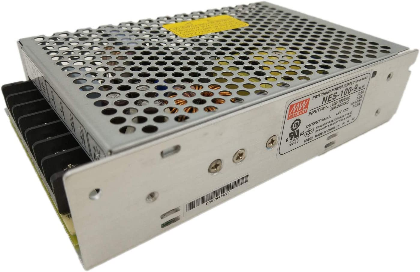 MW Mean Well NES-100-9 9V 11.2A 100W Single Output Switching Power Supply