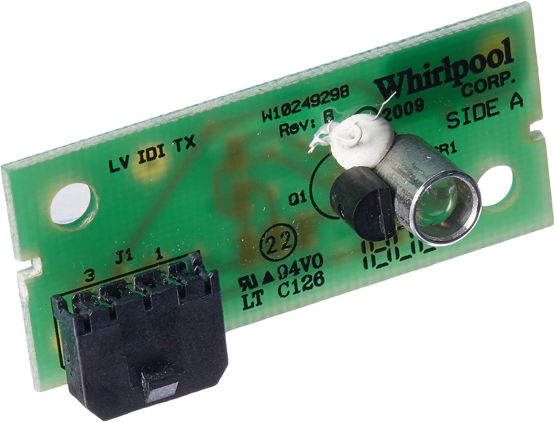 Whirlpool W10870822 - Junta de control de emisor, color gris ...