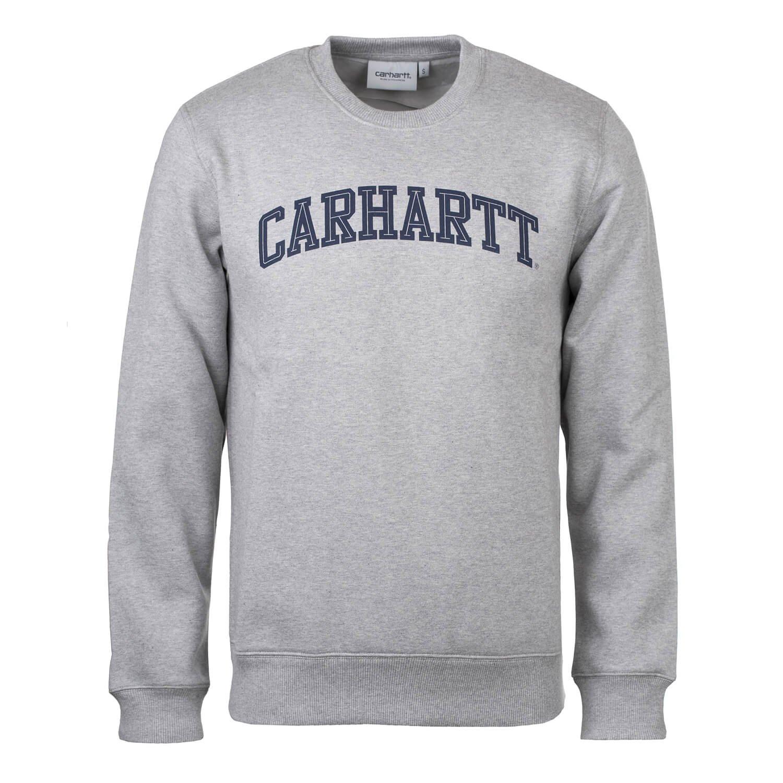 Carhartt Men's Jumper grey Grey Navy
