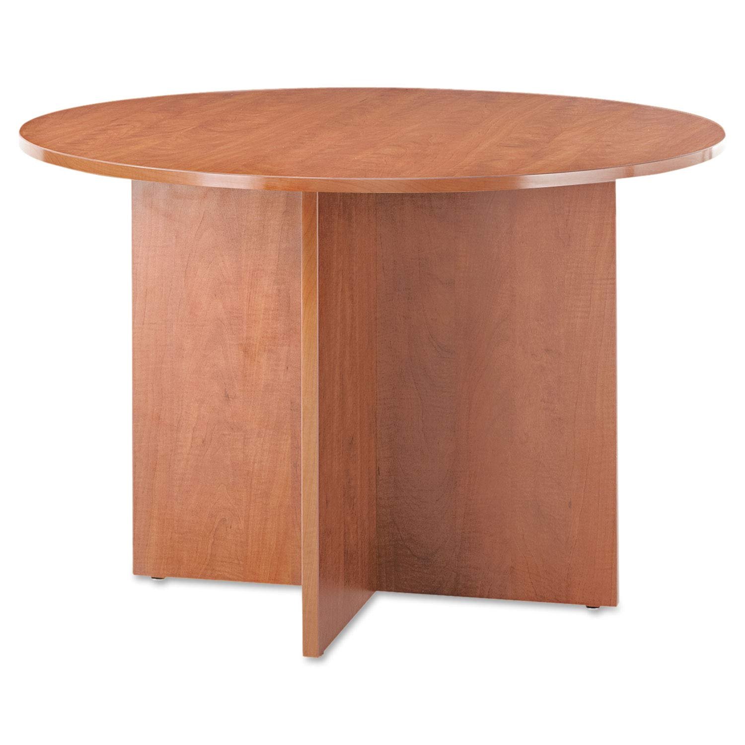 Alera VA7142MC Alera Valencia Round Conference Table w/Legs, 29 1/2h x 42 Dia, Medium Cherry